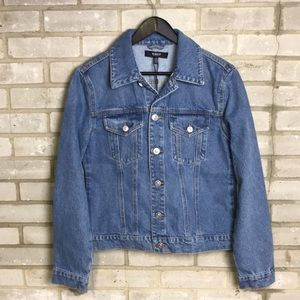 Hudson Classic Fitted Trucker Jacket NWT